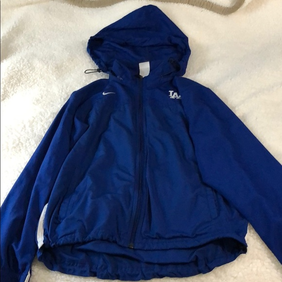 Dodger blue Nike jacket